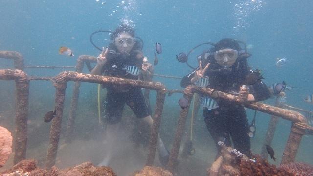 Dari Diver Teh Celup Sampai Ber-license-Tanjung benoa.JPG