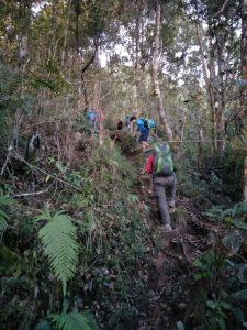 Pendakian Tektok Gunung Cikuray bersama Tektok Team 5